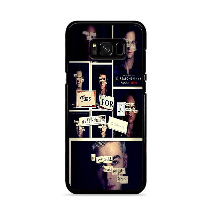 All 13 Reasons Why 2 Poster Samsung Galaxy S8 HÜLLE