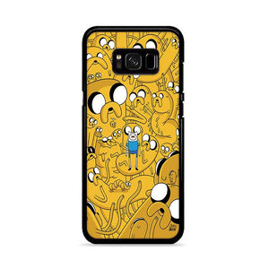 Yellow Adventure Time Samsung Galaxy S8 HÜLLE