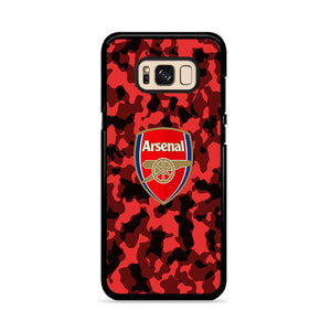 Arsenal FC Red Camo Camouflage Samsung Galaxy S8 Plus HÜLLE