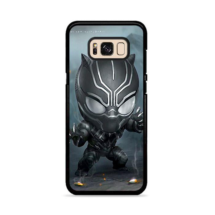Chibi Fancy Black Panther Samsung Galaxy S8 Plus HÜLLE
