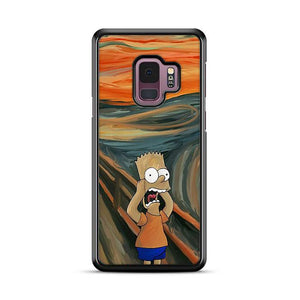 The Simpsons Bart Scream Samsung Galaxy S9 HÜLLE