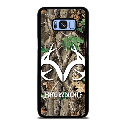 coque custodia cover fundas HÜLLE j3 J5 J6 s20 s10 s9 s8 s7 s6 s5 plus edge D39409 REALTREE CAMO BROWNING Samsung Galaxy S8 Plus Case