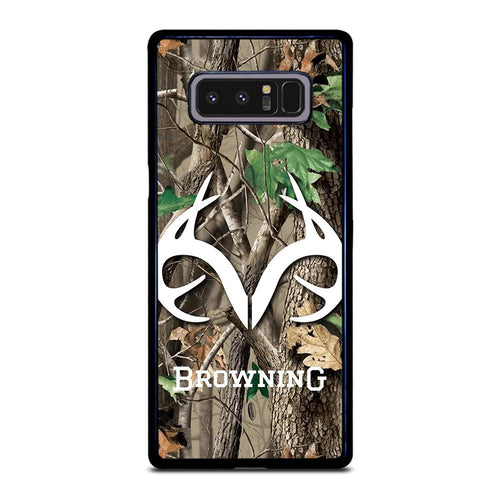 coque custodia cover fundas HÜLLE j3 J5 J6 s20 s10 s9 s8 s7 s6 s5 plus edge D39400 REALTREE CAMO BROWNING Samsung Galaxy Note 8 Case