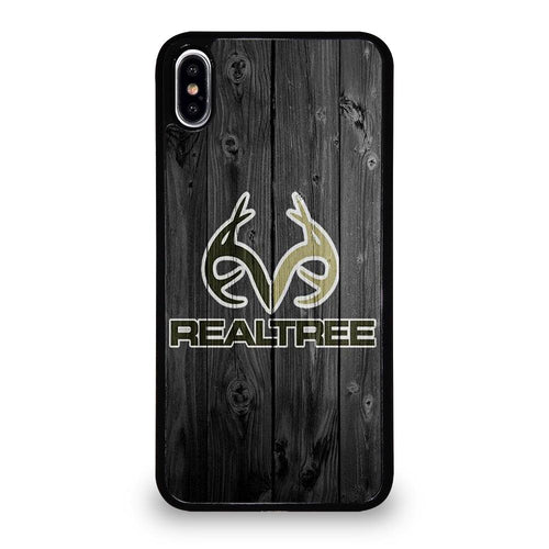 coque custodia cover fundas HÜLLE iphone 11 pro max 5 6 7 8 plus x xs xr se2020 C29523 REALTREE CAMO WOOD iPhone XS Max Case