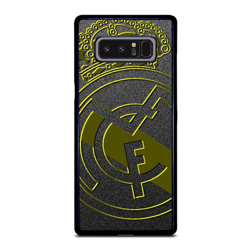 coque custodia cover fundas HÜLLE j3 J5 J6 s20 s10 s9 s8 s7 s6 s5 plus edge D39312 REAL MADRID GOLD #1 Samsung Galaxy Note 8 Case