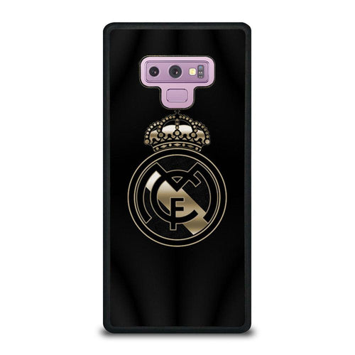 coque custodia cover fundas HÜLLE j3 J5 J6 s20 s10 s9 s8 s7 s6 s5 plus edge D39327 REAL MADRID GOLD #2 Samsung Galaxy Note 9 Case