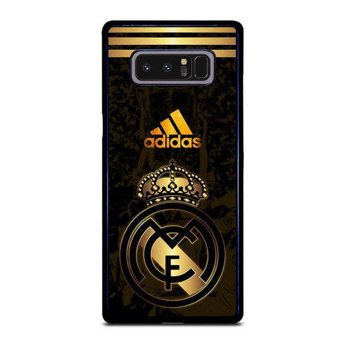 coque custodia cover fundas HÜLLE j3 J5 J6 s20 s10 s9 s8 s7 s6 s5 plus edge D39340 REAL MADRID GOLD 3 Samsung Galaxy Note 8 Case