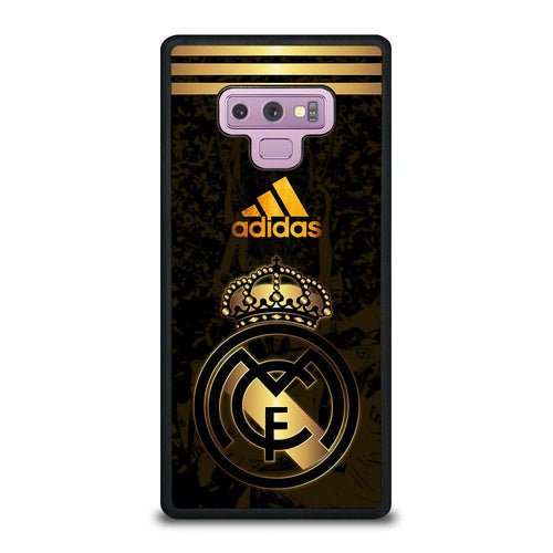 coque custodia cover fundas HÜLLE j3 J5 J6 s20 s10 s9 s8 s7 s6 s5 plus edge D39341 REAL MADRID GOLD 3 Samsung Galaxy Note 9 Case
