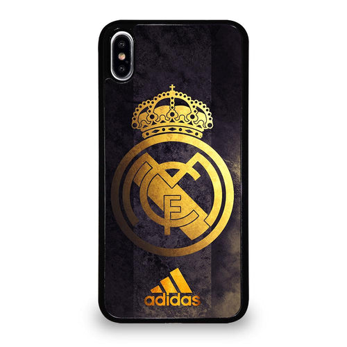 coque custodia cover fundas HÜLLE iphone 11 pro max 5 6 7 8 plus x xs xr se2020 C29482 REAL MADRID GOLD 4 iPhone XS Max Case