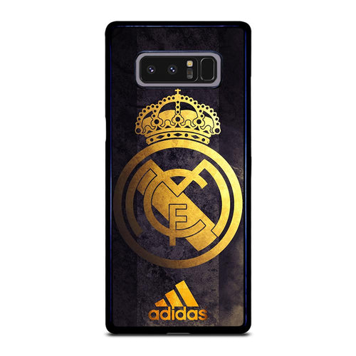 coque custodia cover fundas HÜLLE j3 J5 J6 s20 s10 s9 s8 s7 s6 s5 plus edge D39354 REAL MADRID GOLD 4 Samsung Galaxy Note 8 Case