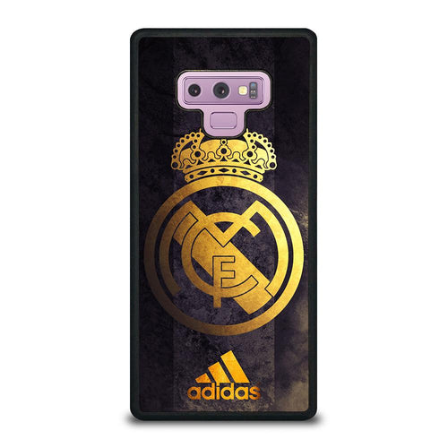 coque custodia cover fundas HÜLLE j3 J5 J6 s20 s10 s9 s8 s7 s6 s5 plus edge D39355 REAL MADRID GOLD 4 Samsung Galaxy Note 9 Case