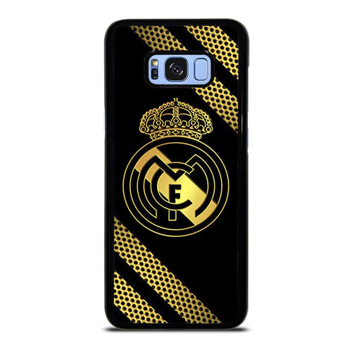 coque custodia cover fundas HÜLLE j3 J5 J6 s20 s10 s9 s8 s7 s6 s5 plus edge D39377 REAL MADRID GOLD NEW Samsung Galaxy S8 Plus Case