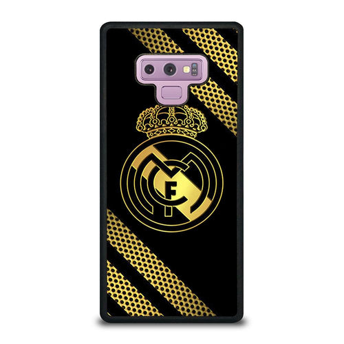 coque custodia cover fundas HÜLLE j3 J5 J6 s20 s10 s9 s8 s7 s6 s5 plus edge D39369 REAL MADRID GOLD NEW Samsung Galaxy Note 9 Case