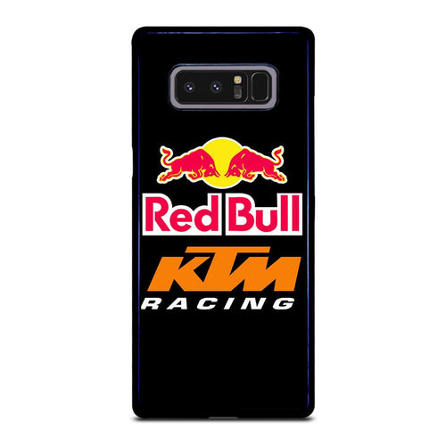 coque custodia cover fundas HÜLLE j3 J5 J6 s20 s10 s9 s8 s7 s6 s5 plus edge D39428 RED BULL RACING Samsung Galaxy Note 8 Case