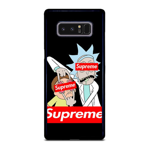 coque custodia cover fundas HÜLLE j3 J5 J6 s20 s10 s9 s8 s7 s6 s5 plus edge D39476 RICK AND MORTY 1 Samsung Galaxy Note 8 Case