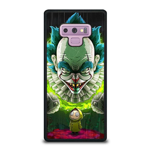 coque custodia cover fundas HÜLLE j3 J5 J6 s20 s10 s9 s8 s7 s6 s5 plus edge D39535 RICK AND MORTY IT Samsung Galaxy Note 9 Case