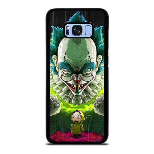 coque custodia cover fundas HÜLLE j3 J5 J6 s20 s10 s9 s8 s7 s6 s5 plus edge D39543 RICK AND MORTY IT Samsung Galaxy S8 Plus Case