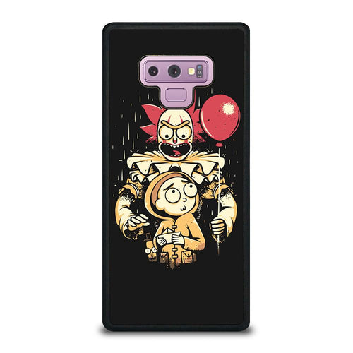 coque custodia cover fundas HÜLLE j3 J5 J6 s20 s10 s9 s8 s7 s6 s5 plus edge D39508 RICK AND MORTY IT 1 Samsung Galaxy Note 9 Case