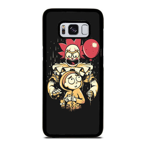 coque custodia cover fundas HÜLLE j3 J5 J6 s20 s10 s9 s8 s7 s6 s5 plus edge D39515 RICK AND MORTY IT 1 Samsung Galaxy S8 Case