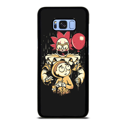 coque custodia cover fundas HÜLLE j3 J5 J6 s20 s10 s9 s8 s7 s6 s5 plus edge D39516 RICK AND MORTY IT 1 Samsung Galaxy S8 Plus Case