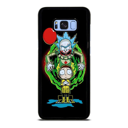 coque custodia cover fundas HÜLLE j3 J5 J6 s20 s10 s9 s8 s7 s6 s5 plus edge D39530 RICK AND MORTY IT 2 Samsung Galaxy S8 Plus Case