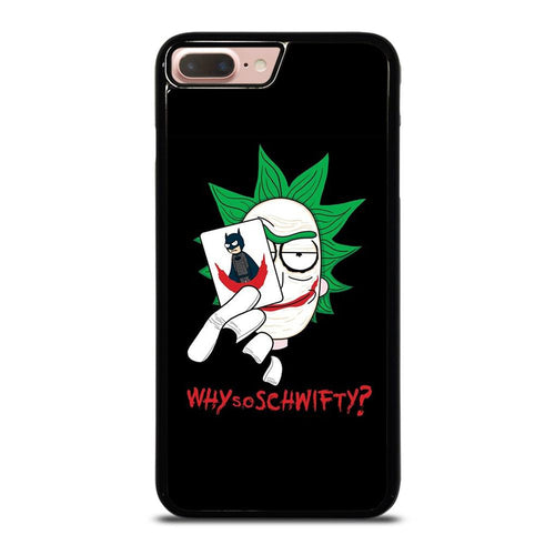 coque custodia cover fundas HÜLLE iphone 11 pro max 5 6 7 8 plus x xs xr se2020 C29650 RICK AND MORTY JOKER iPhone 7 / 8 Plus Case