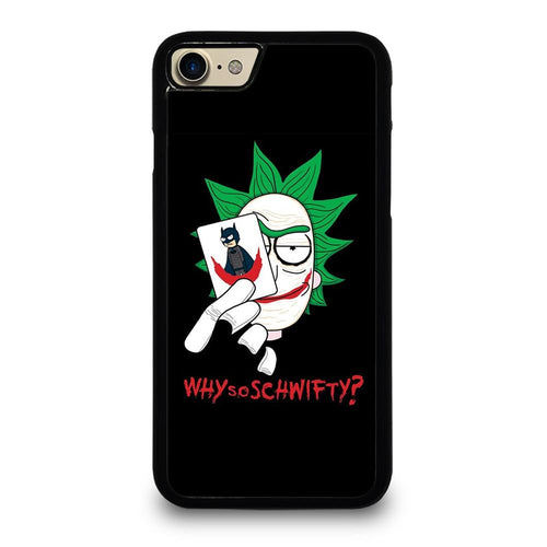 coque custodia cover fundas HÜLLE iphone 11 pro max 5 6 7 8 plus x xs xr se2020 C29649 RICK AND MORTY JOKER iPhone 7 / 8 Case