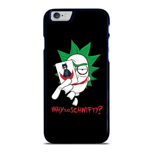 coque custodia cover fundas HÜLLE iphone 11 pro max 5 6 7 8 plus x xs xr se2020 C29647 RICK AND MORTY JOKER iPhone 6 / 6S Case