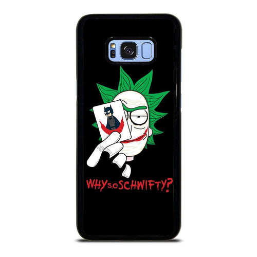 coque custodia cover fundas HÜLLE j3 J5 J6 s20 s10 s9 s8 s7 s6 s5 plus edge D39597 RICK AND MORTY JOKER Samsung Galaxy S8 Plus Case