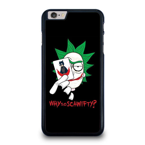coque custodia cover fundas HÜLLE iphone 11 pro max 5 6 7 8 plus x xs xr se2020 C29648 RICK AND MORTY JOKER iPhone 6 / 6S Plus Case