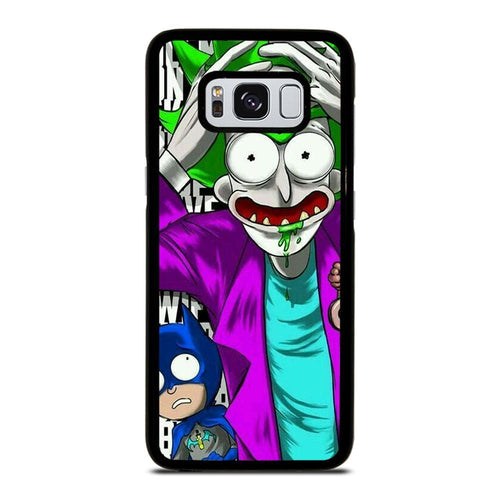 coque custodia cover fundas HÜLLE j3 J5 J6 s20 s10 s9 s8 s7 s6 s5 plus edge D39568 RICK AND MORTY JOKER BATMAN Samsung Galaxy S8 Case