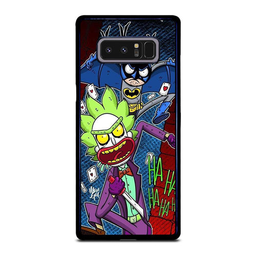 coque custodia cover fundas HÜLLE j3 J5 J6 s20 s10 s9 s8 s7 s6 s5 plus edge D39548 RICK AND MORTY JOKER BATMAN 1 Samsung Galaxy Note 8 Case