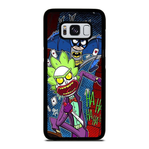 coque custodia cover fundas HÜLLE j3 J5 J6 s20 s10 s9 s8 s7 s6 s5 plus edge D39555 RICK AND MORTY JOKER BATMAN 1 Samsung Galaxy S8 Case