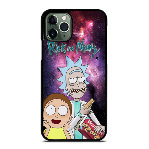 coque custodia cover fundas HÜLLE iphone 11 pro max 5 6 7 8 plus x xs xr se2020 C29656 RICK AND MORTY NEBULA iPhone 11 Pro Max Case
