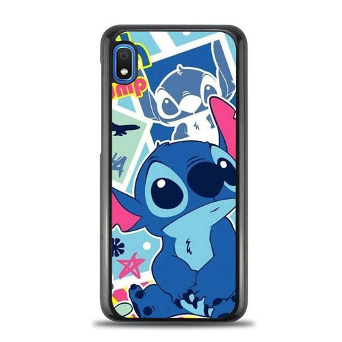 coque custodia cover fundas HÜLLE j3 J5 J6 s20 s10 s9 s8 s7 s6 s5 plus edge B36943 Stitch Wallpaper FF51508 Samsung Galaxy A10e HÜLLE
