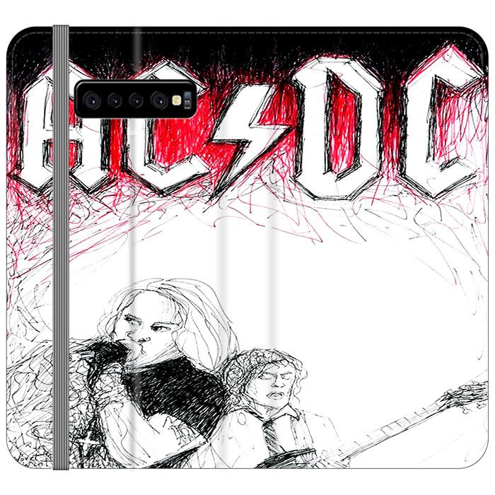 ACDC Band Samsung Galaxy S10 Plus Flip HÜLLE