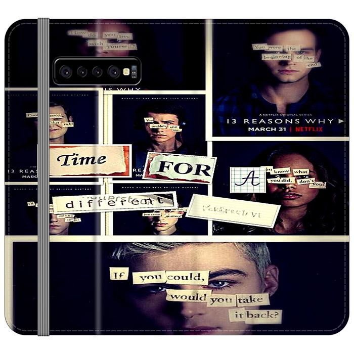 All 13 Reasons Why 2 Poster Samsung Galaxy S10 Plus Flip HÜLLE