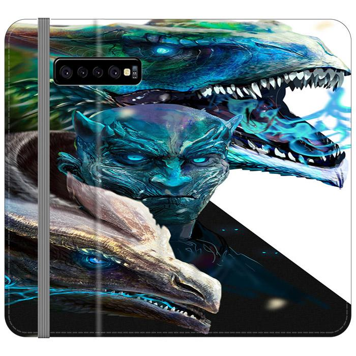 Game Of Thrones Night King Samsung Galaxy S10 Plus Flip HÜLLE
