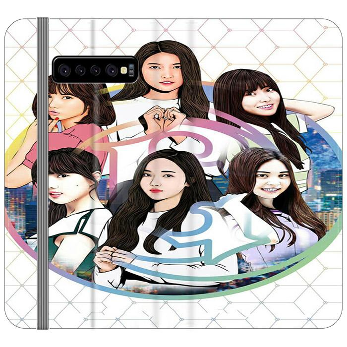 Gfriend Wallpaper Art Samsung Galaxy S10 Flip HÜLLE