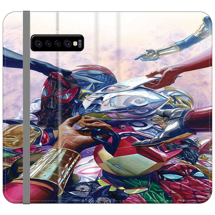All New Different Marvel Samsung Galaxy S10 Flip HÜLLE