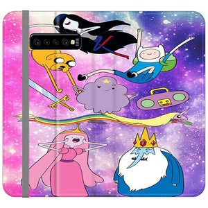 Adventure Time Galaxy Samsung Galaxy S10 Flip HÜLLE