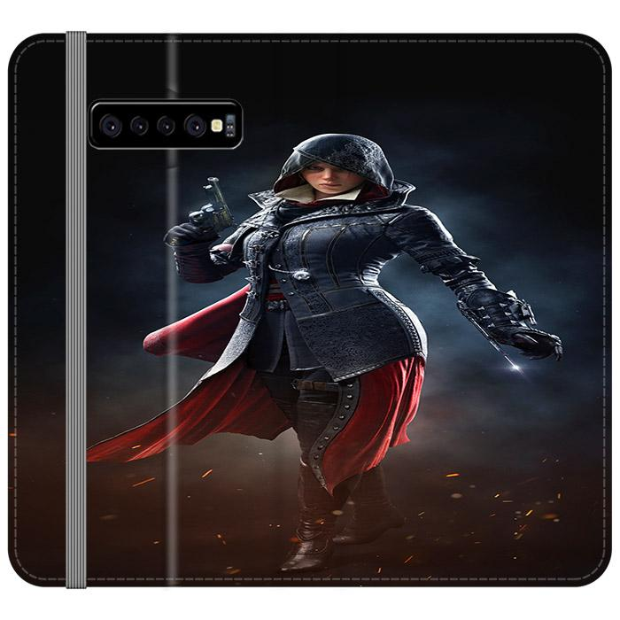 Assassin's Creed Syndicate Evie Frye Samsung Galaxy S10 Flip HÜLLE