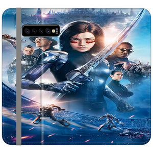 Alita Battle Angel Poster Samsung Galaxy S10 Flip HÜLLE