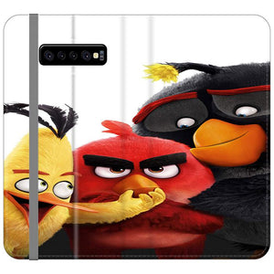 Angry Birds Movie Samsung Galaxy S10 Flip HÜLLE
