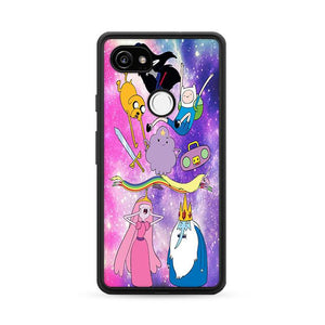 Adventure Time Galaxy Google Pixel 2 XL HÜLLE