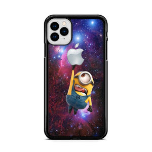 Minion Catch Apple in Galaxy iPhone 11 Pro Max HÜLLE