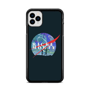 NASA Rick and Morty Galaxy iPhone 11 Pro Max HÜLLE