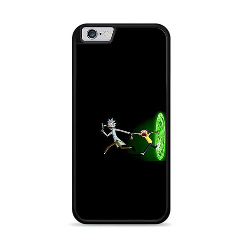 Rick and Morty Galaxy Black Portal iPhone 6 Plus | iPhone 6S Plus HÜLLE