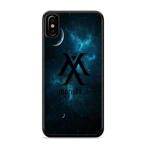 Monsta X Logo Galaxy iPhone XS Max HÜLLE