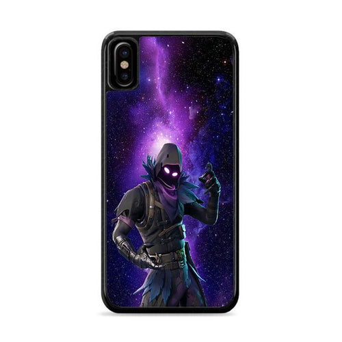 Fortnite Raven Galaxy iPhone XS Max Case | Rowling